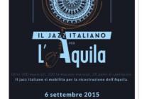 """Il jazz italiano per L'Aquila"""