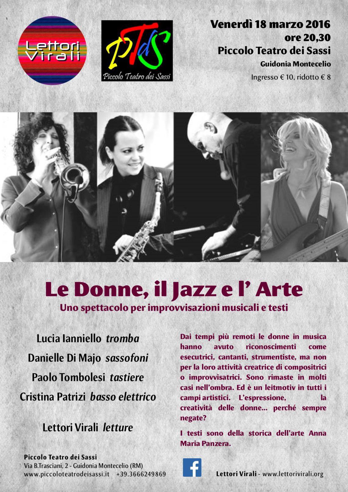 Le Donne, il Jazz e l'Arte