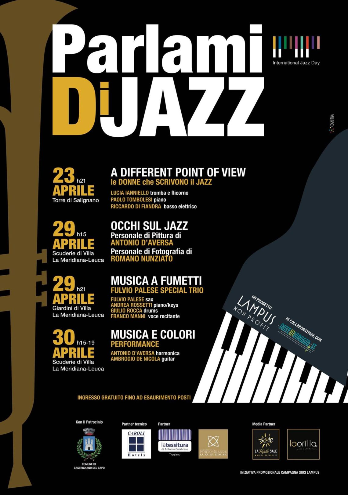 International Jazz Day – Parlami di Jazz